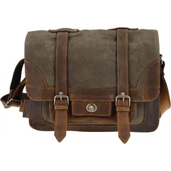 "BSA ""Canvas Satchel Bag"""