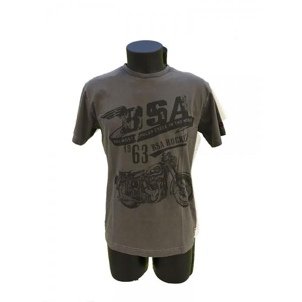T-SHIRT BSA grigio scuro