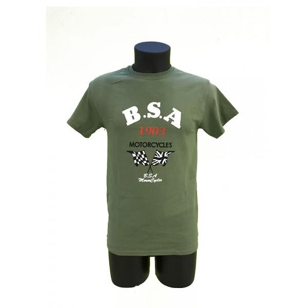 T-SHIRT BSA verde