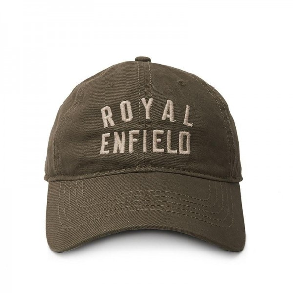 Berretto ROYAL ENFIELD baseball verde oliva