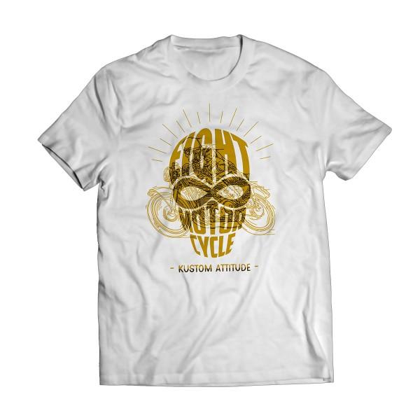 """T-Shirt """"Eight Kustom Attitude"""" COMING S..."""