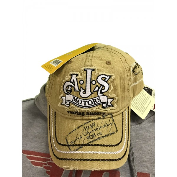 Cappello AJS Beige